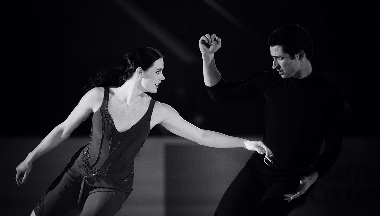 Tessa Virtue et Scott Moir, champions olympiques de danse sur glace